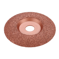 Drillpro Tungsten Carbide Shaping Dish 125mm Diameter 22mm Bore Wood Shaping Disc Wood Carving Disc Angle Grinder Disc