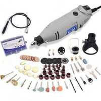 HILDA JD3323C 220V 150W Variable Speed Electric Grinder with 91pcs Accessories Mini Rotary Tool Drill