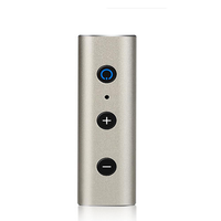 Quelima Car Wireless bluetooth Receiver Aux Audio Universal 3.5 Llavalier 4.2