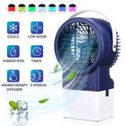 Recommandé IPRee® 4 in 1 3-Speeds Adjustable Air Conditioner Mist Purifier Humidifier Fan Portable Personal Air Cooler Desk Fan Quiet Circulation with 7 Colors Timing Lights for Outdoor Home Office