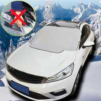 114 X 142cm Universal Car Windshield Cover Frost Ice Snow Sun UV Dust Shade Shield Window Protector