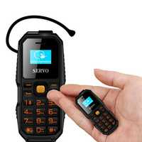 SERVO S07 0.66'' 300mAh bluetooth Headset BT Dialer Dual SIM Dual Standby Mini Card Phone