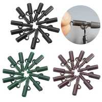 10Pcs/Set Lead Clip Set With Quick Change Swivels Carp Fishing Tool Tackle Rigs