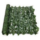 Prix de gros Expanding 1*3M Artificial Lvy Leaf Wall Fence Green Garden Screen Hedge Decorations