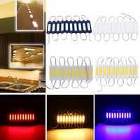 10PCS DC12V COB Warm White/Pure White/Red/Green/Blue LED Module Strip Light for Advertising Sign