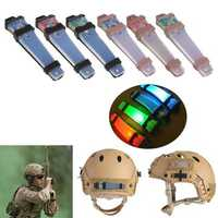 Hunting Tactical FMA Helmet Safety Light LED Flashing for Airsoft Bike Sports Driving