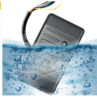 Shell Waterproof Door Reading Head ID Card RFID Card Reader For Home Security