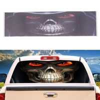 Grim Reaper Death Car Rear Window Graphic Decal Stickers for Truck Suv Van