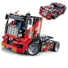 Acheter au meilleur prix Decool 3360 608pcs Race Truck Car 2 In 1 Transformable Model Building Blocks Toys Sets DIY Toys With Box