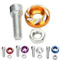 M6/6mm Windscreedn Decoration Screws Bolts for Motorcycle Auto 5 Colors