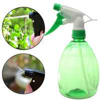 500ml Gardening Hand Pressure Green Watering Can Plastic Planting Spray Bottle Tool