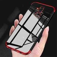 Bakeey™ Transparent Plating Shockproof Back Cover Protective Case for Huawei Mate 20 Lite