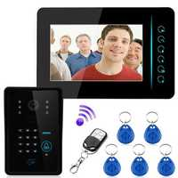 ENNIO SY806MJIDSW11 2.4G Wireless RFID Phone Intercom Doorbell Remote Camera Monitor Access Control