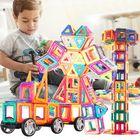 Meilleurs prix 113 Pieces Kids Magnetic Toys Magnet Tiles Kits Blocks Building Toys For Boys Girls