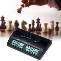 Electronic Digital Chess Clock Count Up Down Timer For I-GO
