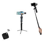 Meilleurs prix RCGEEK Retractable Extension Rod With Tripod Stand bluetooth Remote Shutter For DJI OSMO Mobile 2 Gopro Smartphone