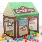 Meilleurs prix 30 Inches Kids Tent Children Game Room Boys Girls Castle Cubby Play House Cottage Toys