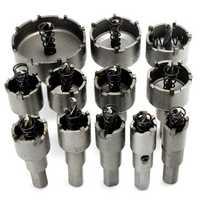 12pcs 15mm-50mm Hole Saw Cutter Kit Drill Bit Set