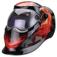 Solar Power Automatic Dimming Welding Helmet Welder Mask Adjustable Head Band PP