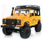 Meilleurs prix MN90 1/12 2.4G 4WD Rc Car W/ Front LED Light 2 Body Shell Roof Rack Crawler Off-Road Truck RTR Toy