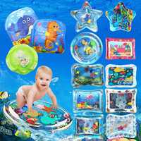 Inflatable Toys Water Play Mat Infants Baby Toddlers Perfect Fun Tummy Time Play
