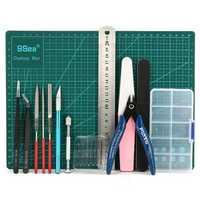 DIY Modeler Basic Tools Craft Set Hobby Model Building Kit Grinding FOR GUNDAM