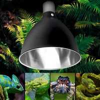 E27 Ceramic Heat UV UVB Lamp Light Holder Reptile Tortoise Lampshade with Switch