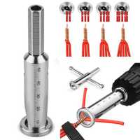 Cable Connector Terminal Wire Twisting Tool Stripper Twister Line for Power Drill Drivers