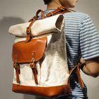 Acheter au meilleur prix Men Canvas Large Capacity Travel Backpack