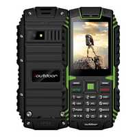 ioutdoor T1 IP68 Waterproof Level 2.4 Inch 2100mAh 2MP 128MB Flashlight FM Dual SIM Feature Phone