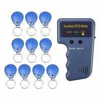 Handheld 125KHz RFID Copier/Writer/Readers/Duplicator with 10Pcs ID Tags MC