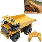 Acheter HuiNa Toys 540 1/18 2.4G 6CH Electric Rc Car Dump Truck Alloy Engineering Vehicle