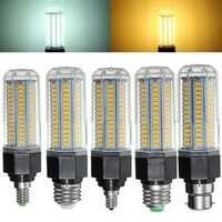 E27 B22 E26 E12 E14 15W 5730 SMD LED Corn Light Lamp Bulb Non-Dimmable AC110-265V