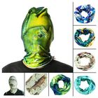 Meilleurs prix 52*24CM Outdoor Sports Fishing Polyester Tubular Scarf Wrist Head Band Face Mask Protector
