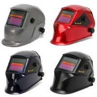 Auto Darkening Solar welders Welding Helmet Mask with Grinding Function 4 Colors