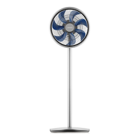 JIMMY JF41 Smart Pedestal Fan 360-degree Oscillation 15M Blowing Distance Multiple Wind Modes Brushless Digital Motor Global Version EU Plug - Silver