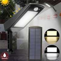 48 LED Waterproof Adjustable Solar Light Wall Street Road Light Outdoor Garden Lamp with 4 Modes