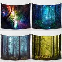 Forest Tree Indian Tapestry Beach Towel Bedspread Blanket Wall Hanging Throw Mat Home Decor