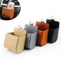 Auto Air Vent Car Storage Bag Multi-functional Phone Bag