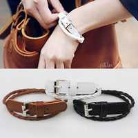 Bohemian Double Layer Leather Bracelet
