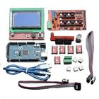 Meilleurs prix Geekcreit LCD 12864 RAMPS 1.4 Board 2560 R3 Control Board A4988 Driver Kit For 3D Printer
