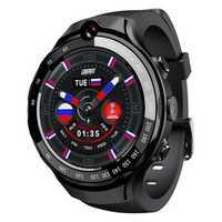 LOKMAT LOK 02 4G LTE 1+16G Dual HD Camera Dual GPS Positioning Smart Watch Phone 1.39'' AMOLED Screen Optical Heart Rate Monitor Multiple Sports Modes Fitness Smart Bracelet