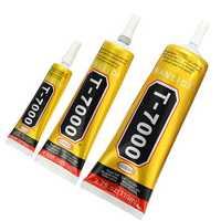 T7000 Glue Multi Purpose Black Acrylic Adhesive for Phone Screen Repair Frame Sealant DIY Crafts
