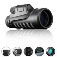 BOSHIREN 10x42 HD Binoculars Portable Handheld Night Vision Military Ourdoor Traveling Telescope