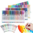 Meilleur prix 48/100 Colours Set Gel Pens Art Books Markers Glitter Neon Metallic Art Pens