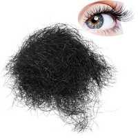 1 bag Black Loose Individual False Eyelashes Long Natural Beauty Salon 8mm 12mm Eye Makeup Adhesives
