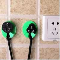 2Pcs Kitchen Socket Hook Holder Safe Plug Kids Children Protect Safety Power Electricity Wall Hanger