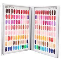 120 Grids Nail Gel Polish Card Chart Display Beauty Manicure Salon
