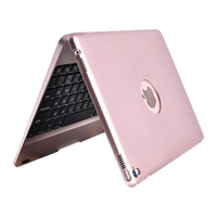 bluetooth Wireless Keyboard Foldable Stand Case For iPad 9.7 Inch 2018/iPad 9.7 Inch 2017/iPad Air/iPad Air 2/iPad Pro 9.7 Inch