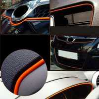 120 Inch Universal Car Moulding Trim Strip Interior Exterior With 3M Tape